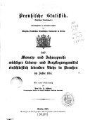 Preussische statistik