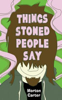 download ebook things stoned people say pdf epub