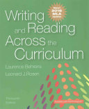 Writing and Reading Across the Curriculum  MLA Update Edition