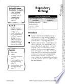 Academic Vocabulary Level 4  Expository Writing