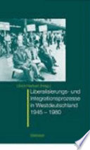 Wandlungsprozesse in Westdeutschland