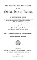 The Running and Maintenance of the Marine Diesel Engine Book PDF