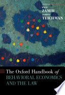 The Oxford Handbook Of Behavioral Economics And The Law : studies of law and law-related issues. these studies...