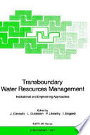 Transboundary Water Resources Management