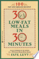 30 Low Fat Meals In 30 Minutes