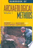 Handbook of Archaeological Methods
