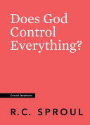 Does God Control Everything