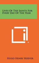 download ebook lives of the saints for every day of the year pdf epub