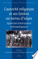 L'autorité religieuse et ses limites en terres d'islam