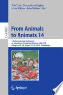 From Animals to Animats 14