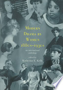 Modern Drama by Women  1880s 1930s