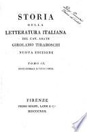 Storia della letteratura italiana del cav  abate Girolamo Tiraboschi     Tomo 1    9