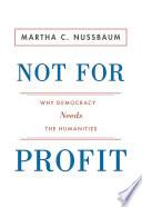 Ebook Not for Profit Epub Martha C. Nussbaum Apps Read Mobile