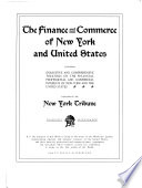 The Finance and Commerce of New York and United States