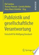 Publizistik und gesellschaftliche Verantwortung