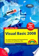 Jetzt lerne ich Visual Basic 2008