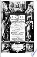 Opera omnia. Dat is, Alle theologische wercken des eerweerdigen en wel-geleerden mr. Wilhelmus Couper ...