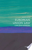 European Union Law  a Very Short Introduction