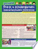 Inclusive Pre K   Kindergarten