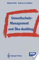 Umweltschutz-Management und Öko-Auditing
