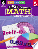 180 Days of Math for Fifth Grade  Practice  Assess  Diagnose