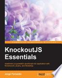 KnockoutJS Essentials