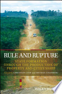 Rule and Rupture In The Way Of Understanding It The State