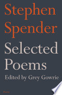Selected Poems of Stephen Spender