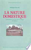 illustration du livre La Nature domestique