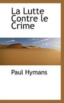 La Lutte Contre Le Crime