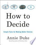 How to Decide Book PDF