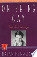 On Being Gay
