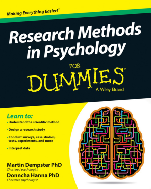 Research Methods in Psychology For Dummies - ISBN:9781119035121