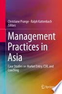 Management Practices in Asia Book PDF
