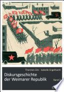 Diskursgeschichte der Weimarer Republik