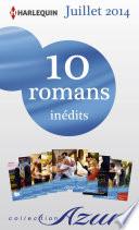 10 romans Azur in  dits   1 gratuit  no3485    3494   Juillet 2014