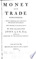Money and Trade Considered