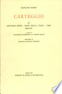 Giovanni Boine   Amici della   Voce     Vari  1904 1917