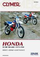Honda XL XR 500 600 1979 1990