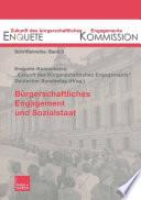 B Rgerschaftliches Engagement Und Sozialstaat