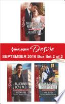 Harlequin Desire September 2016   Box Set 2 of 2