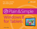 Windows   8 for Tablets Plain   Simple