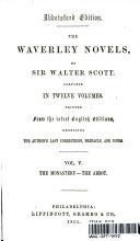download ebook the waverley novels: vol. v the monastery - the abbot pdf epub