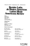 Revista de M  sica Latinoamericana