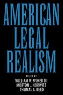American Legal Realism