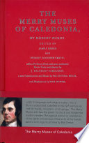 The Merry Muses of Caledonia Book PDF