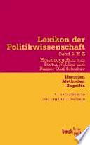 Lexikon der Politikwissenschaft