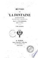 uvres de La Fontaine     Tome premier   sixi  me