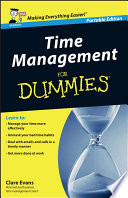 Time Management For Dummies   UK