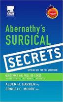 Abernathy s Surgical Secrets